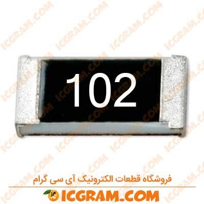 مقاومت 1 کیلو اهم 1206 با خطای 5 درصد