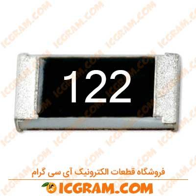 مقاومت 1.2 کیلو اهم 1206 با خطای 5 درصد