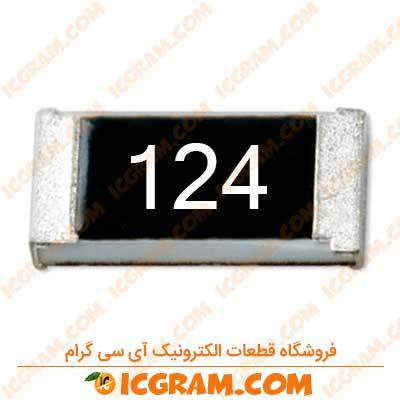مقاومت 120 کیلو اهم 1206 با خطای 5 درصد