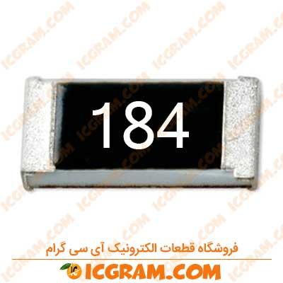 مقاومت 180 کیلو اهم 1206 با خطای 5 درصد