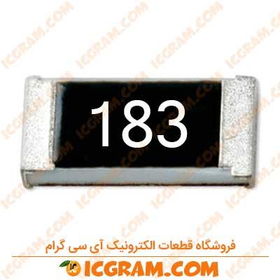 مقاومت 18 کیلو اهم 0603 با خطای 5 درصد