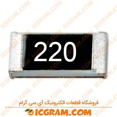 مقاومت 22 اهم 1206 با خطای 5 درصد