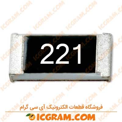 مقاومت 220 اهم 1206 با خطای 5 درصد