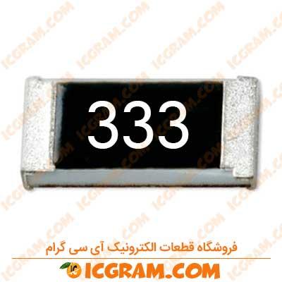 مقاومت 33 کیلو اهم 1206 با خطای 5 درصد