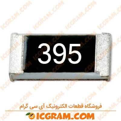مقاومت 3.9 مگا اهم 1206 با خطای 5 درصد