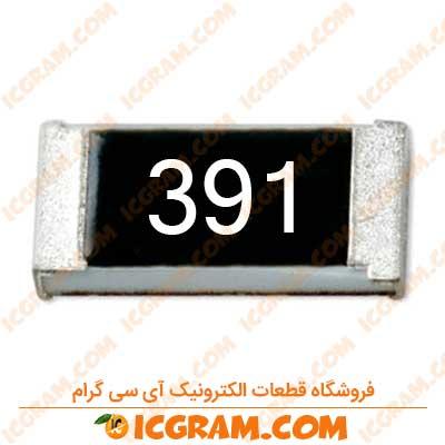 مقاومت 390 اهم 1206 با خطای 5 درصد