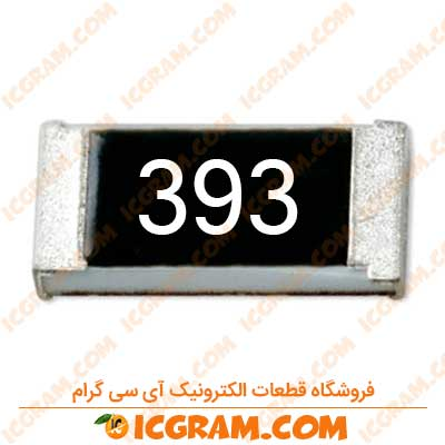 مقاومت 39 کیلو اهم 0603 با خطای 5 درصد