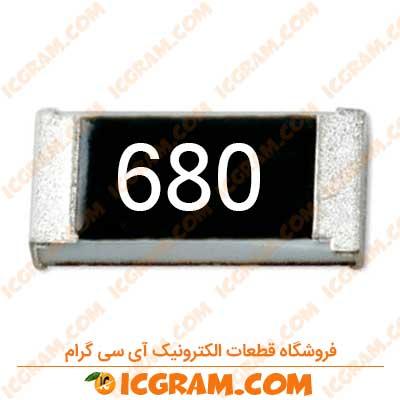 مقاومت 68 اهم 0805 با خطای 5 درصد