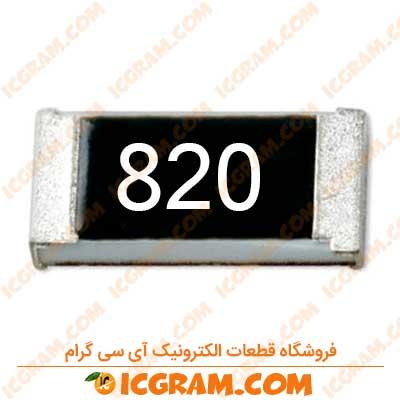 مقاومت 82 اهم 1206 با خطای 5 درصد