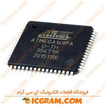 میکروکنترلر ATMEGA169PA پکیج TQFP-64