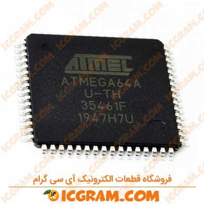 میکروکنترلر ATMEGA64A پکیج TQFP-64