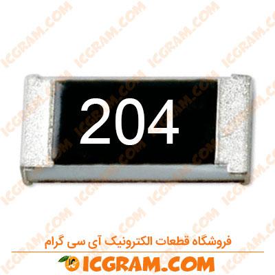 مقاومت 200 کیلو اهم 1206 با خطای 5 درصد