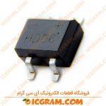 پل دیود 0.8 آمپر 600 ولت HD06-T