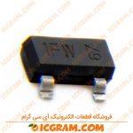 ترانزیستور BC847B پکیج SOT-23