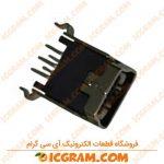 کانکتور USB مادگی صاف نوع Mini B