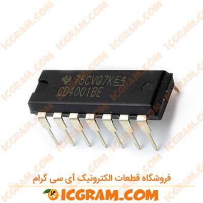 آی سی CD4001BE پکیج DIP-14