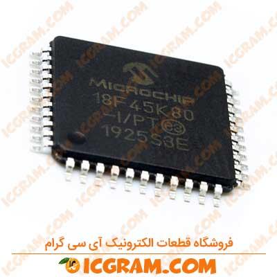 میکروکنترلر PIC18F45K80 پکیج TQFP-44