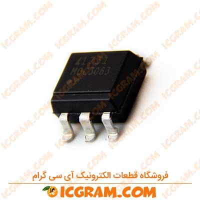 آی سی MOC3063S پکیج SMD-6