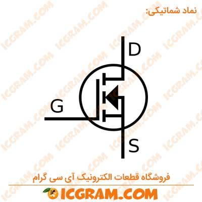 ترانزیستور IRF740PBF پکیج TO-220