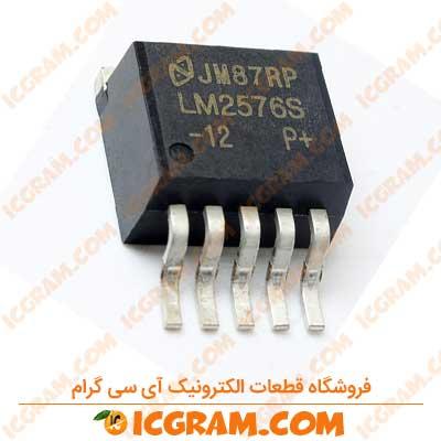 رگولاتور LM2576S-12 پکیج D2-PAK