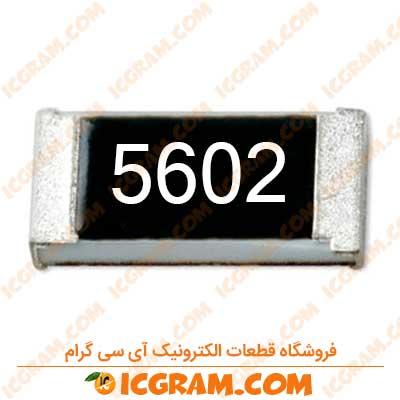مقاومت 56 کیلو اهم 0805 با خطای 1 درصد