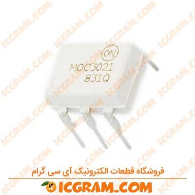آی سی MOC3021 پکیج DIP-6