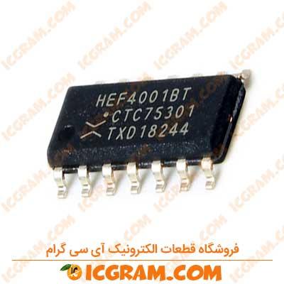 آی سی HEF4001BT پکیج SOP-14