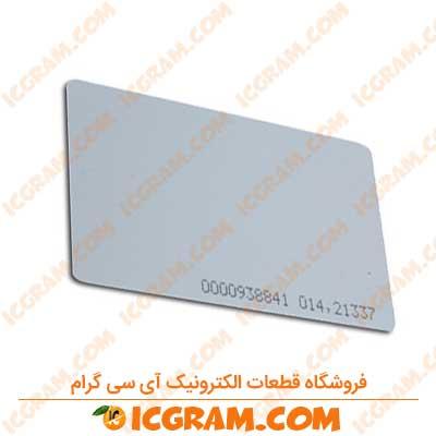 کارت RFID با فرکانس 125 کیلو هرتز